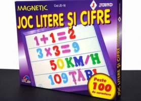 Joc magnetic litere si cifre