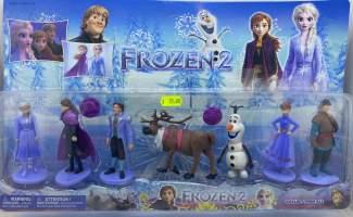Frozen II set 7 figurine replica