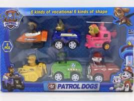 Set figurine Paw Patrol - patrula catelusilor autovehicule