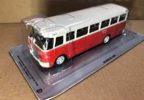 Macheta autobuz Ikarus 620 scara 1/72