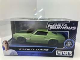 Macheta Fast and Furious Dom's 1973 Chevrolet Camaro rs z28 f-bo