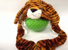 Caciula tigru de plus