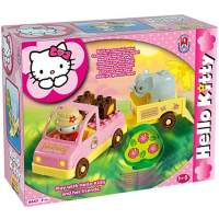 Set cuburi pentru constructie Hello Kitty Mini Safari sapte buca
