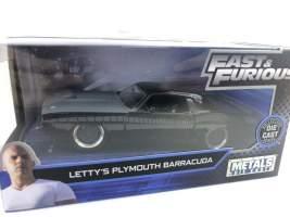 Macheta Fast and Furious Letty's Plymouth Barracuda