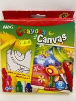 Creioane cerate-crayons canvas