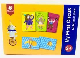 Joc educativ cartonase asociere- circ