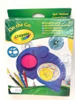 Spiral animal - Crayola