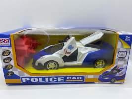Masina cu radiocomanda Lamborghini politie ridica usile si port