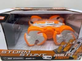 Masina cu radiocomanda crazy Storm Stunt portocalie