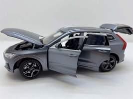 Macheta din metal Volvo xc60 gri 1:32 coteste rotile Tayumo