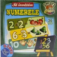 Sa invatam numerele- Smart games joc puzzle