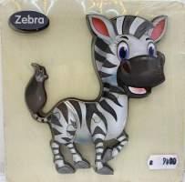 Puzzle lemn zebra 6 piese