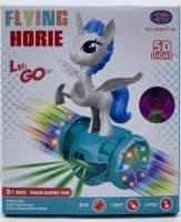 Jucarie Unicorn cu hoverboard