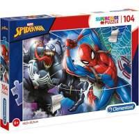 Puzzle Clementoni Marvel Spiderman Supercolor 104 piese