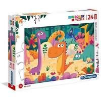 Puzzle Clementoni: Dinozaur prieteni 24 piese