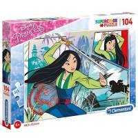 Puzzle Clementoni Disney Princess Mulan Supercolor 104 piese