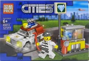 Lego politie - masina si figurina 65013