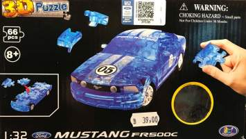 Puzzle 3D Ford Mustang FR500C