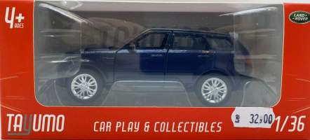 Macheta metal Range Rover Sport model 2020, blue 1/36