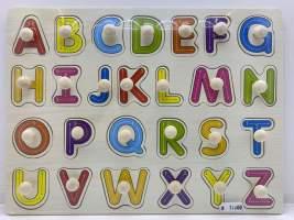 Incastre lemn alfabet