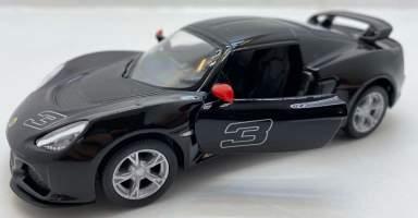 Macheta 2012 Lotus Exige S negru1/36
