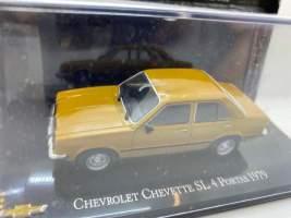 Macheta 1979 Chevrolet Chevette sl 4 portas, orange 1/43