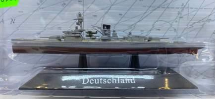 Macheta vapor 1928 Deutschland Battleship
