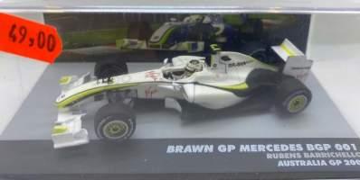 Macheta 2009 Brawn GP Mercedes BGP 001