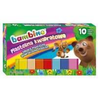 Bambino set plastilina colorata 10 bucati