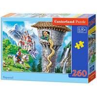 Puzzle Castorland Rapunzel 260 piese