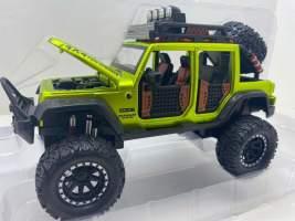 Macheta replica Jeep Verde 1/24