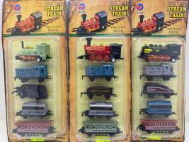 Set mini locomotive metal