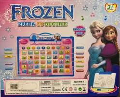 Tablita Frozen interactiva invatare cifre, alfabet, matematica