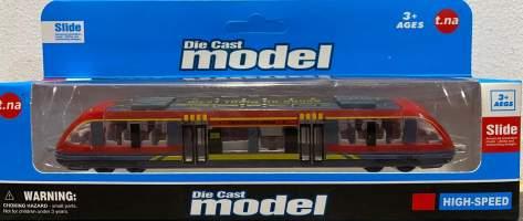 Macheta din metal locomotiva tren