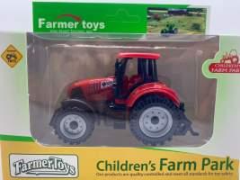 Jucarie tractor rosu