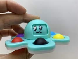 Jucarie senzoriala spinner pop it caracatita
