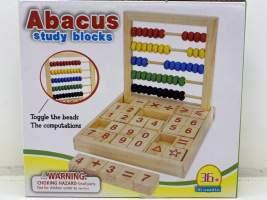 Joc Abac din lemn de socotit si numărat