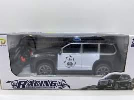 Masina de politie rosie cu radiocomanda