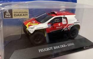 Peugeot 208 Dakar 2016 romain dumas francia