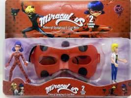 Set figurine si masca Miraculous