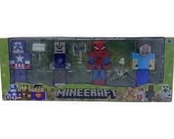 Set figurine Minecraft - super eroi