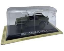 Macheta Fiat campagnola 4x4, verde 1/43