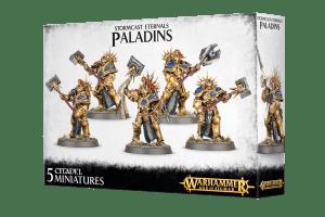 Joc societate Stormcast Eternals Paladins - Paladin Decimators