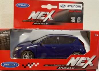 Macheta Hyundai i30 blue 1/43