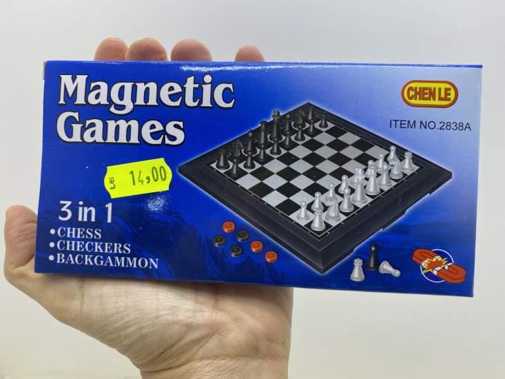 Joc magnetic mini 3 in 1