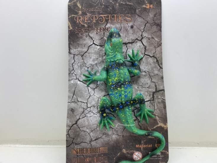 Jucărie șopârlă iguana