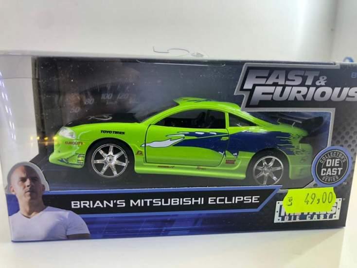 Macheta Fast and Furious Brian's Mitsubishi eclipse