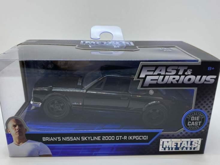 Macheta Fast and Furious Brian's Classic Nissan Skyline 2000 gr-