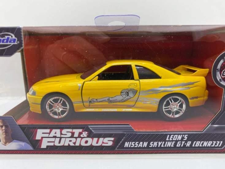Macheta Fast and Furious Leon's Nissan Skyline GT-R r33