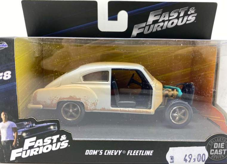 Macheta Fast 8 Dom's Chevrolet Fleetline 1/32 Jada